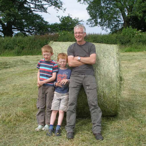The Farm Life at Upper Heath Farm in Craven Arms Shropshire