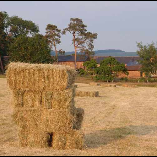 Hay Barrels at Upper Heath Farm Self Catering Accommodation for Families in Shropshire