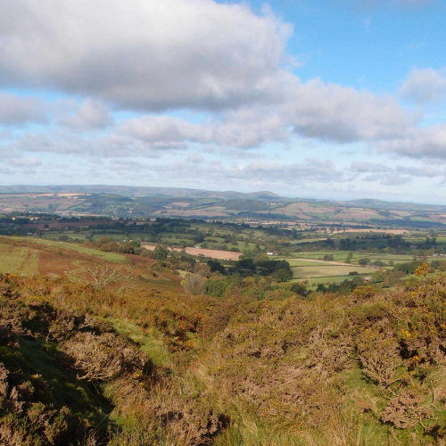 Views of the South Shropshire Hills