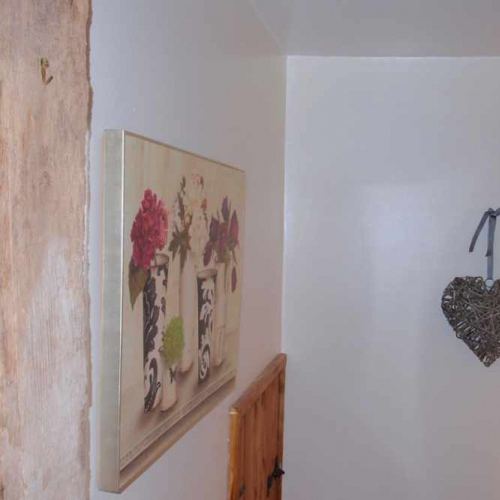 Decoration inside Self Catering Family Farm Cottage at Heath Farm in Craven Arms Shropshire