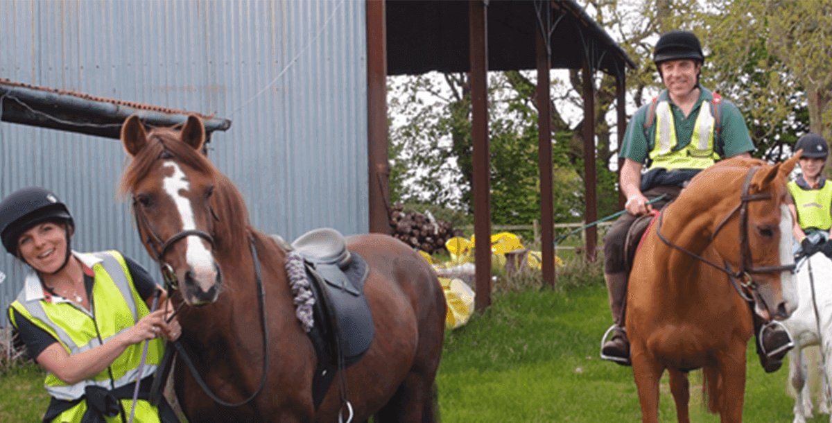 Horse Riding and Training at Upper Heath Farm Short Break Accommodation in Shropshire UK